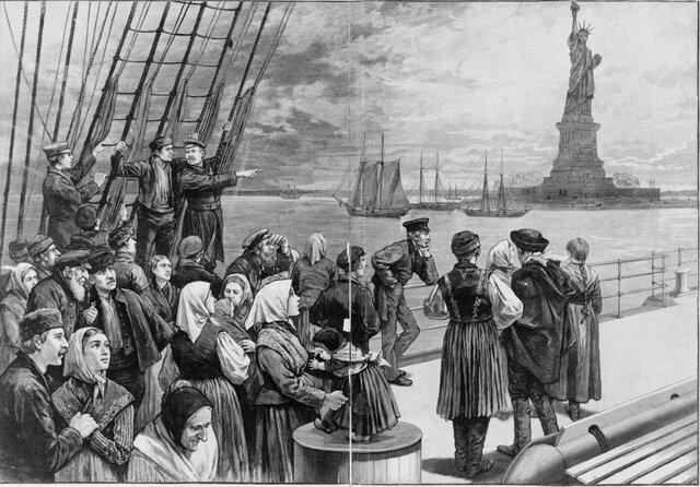 Immigration Begins