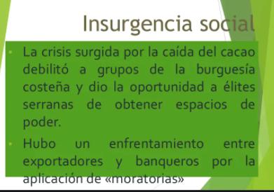 La Insurgencia Social