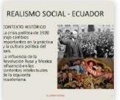 Política, cultural y Realismo Social