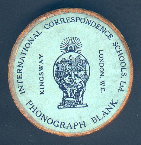 Fundación de la Phonographic Correspondence Society
