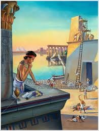 Moses in Egypt (beg. year)