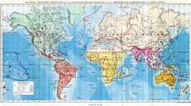 Historia de la Biogeografía timeline