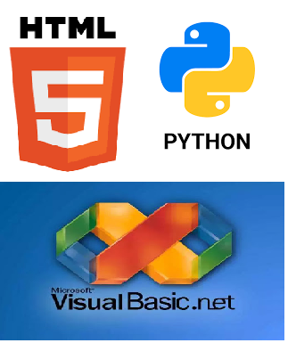 HTML, Python y Visual Basic