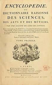 Publicación de la Enciclopedi