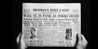 Crisis del modelo capitalista (felices 20 y crash