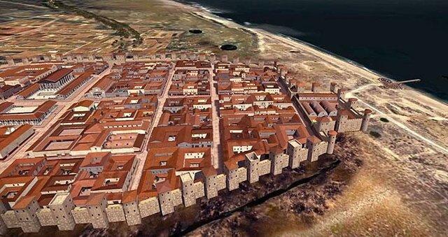 Fundació de la ciutat Barcino