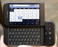 EL Primer Android (HTC Dream)