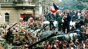 Checoslovaquia con la Primavera de Praga (1956)