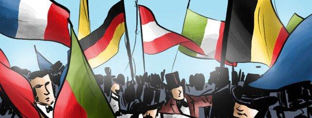 Triunfo del Nacionalismo. Grecia, Bélgica, Italia y Alemania