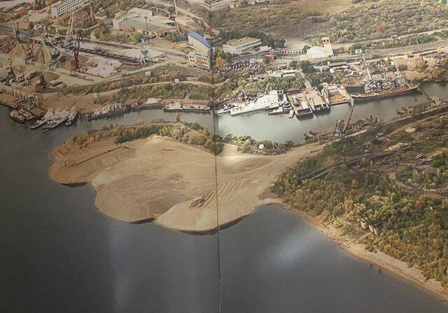 Работы по обустройству реки Томи