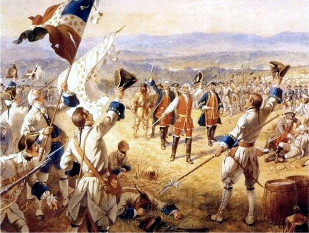 Inicio de la Guerra de los Siete años, 1754