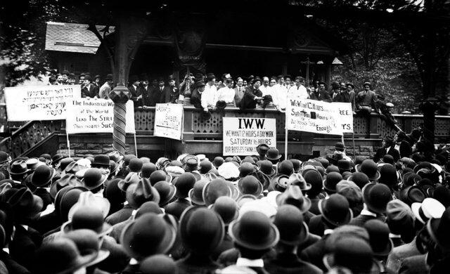 El movimiento obrero. Las Internacionales y los sindicatos