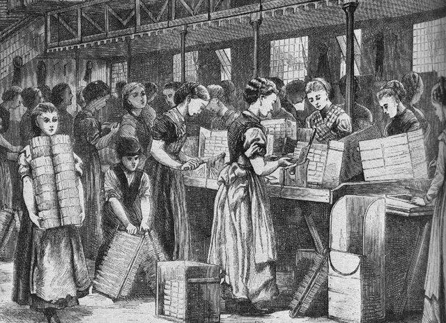 Aparición del liberalismo económico por Adam Smith