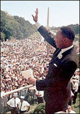Martin Luther King Wins Noble Prize
