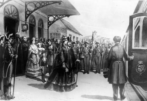 Destronament i exili d'Isabel II