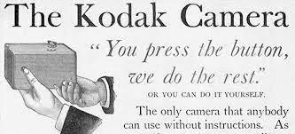 Primera Cámara Kodak con pelicula