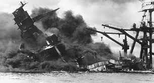 Llegada de los estadounidenses a la segunda guerra mundial con Peal Harbor
