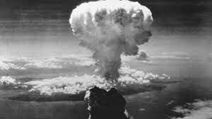 Lanzamiento de la primero bomba atómica en Japón