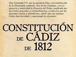 Constitucion de Cádiz