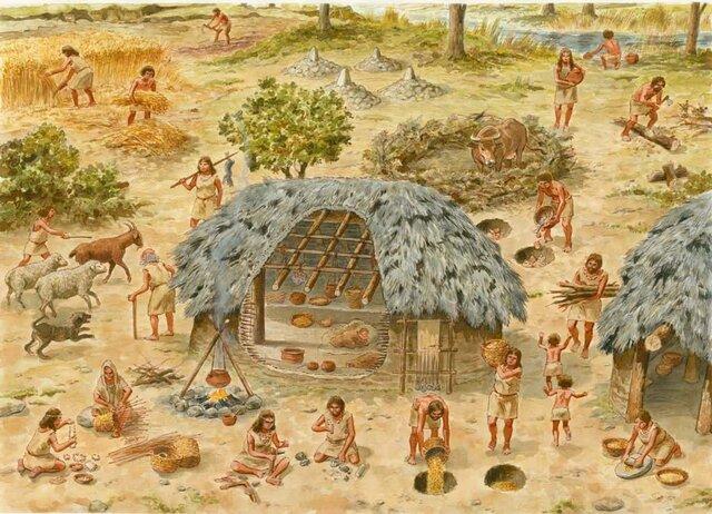 Mesolítico - 10.000 a.C.