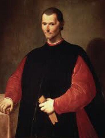 Nicolás Maquiavelo (1469-1527)