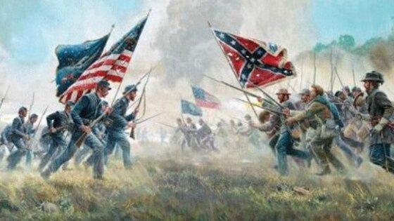 Comienzo de la Guerra civil estadounidense
