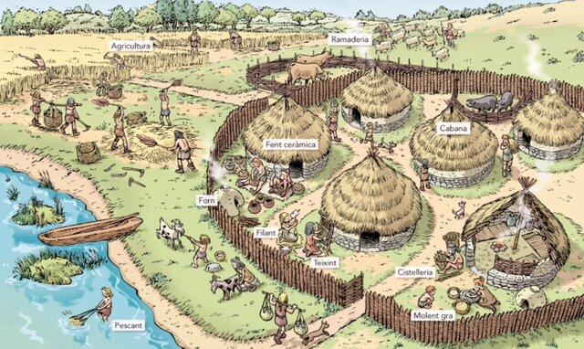 Neolítico final - 2.800 a.C.