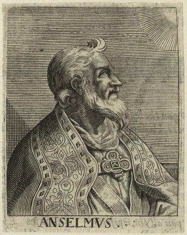 Anselmo de Canterbury ( 1033 hasta 1109 )