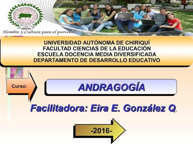 1970 - Andragogia Como Displina Academica