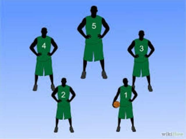 5 jugadores por equipo