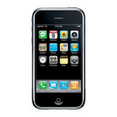 Iphone 1ª Generación (Iphone Classic o 2G)