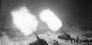 Una repartición provisional pero mal hecha, que permanecerá ante el conflicto ideológico.Guerra de Corea (1950-1953)