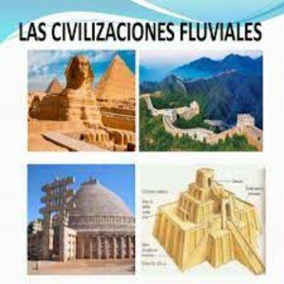 HISTORIA DE MEXICO UNIVERSAL-CIVILIZACIONES FLUVIALES timeline