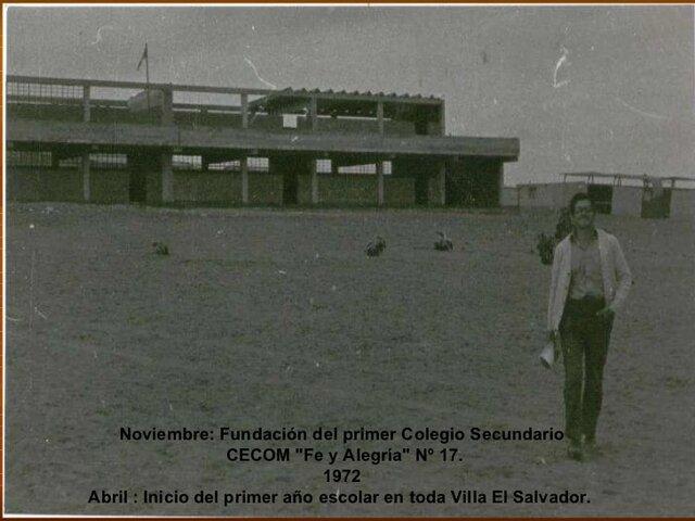 Fundación de CECON, Fe y Alegría 17
