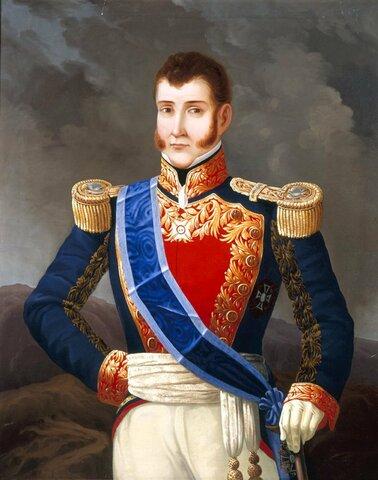 Llegó Agustín de Iturbide
