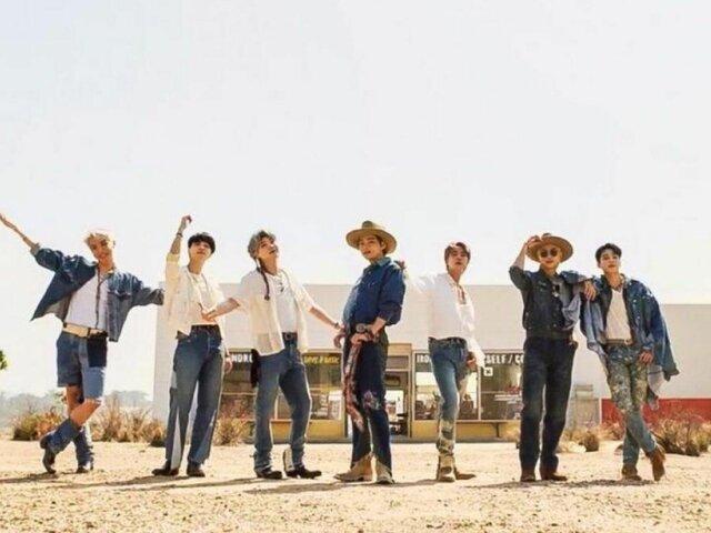"""""""Permission to dance""""- BTS"""