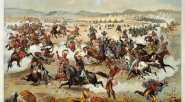 The Native American War timeline