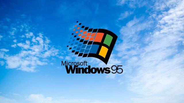 Lanzamiento de Windows 95
