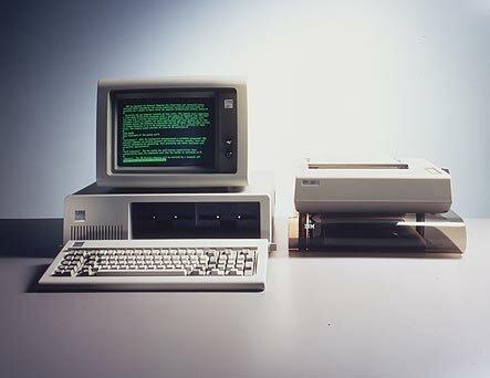 Primeros ordenadores PC