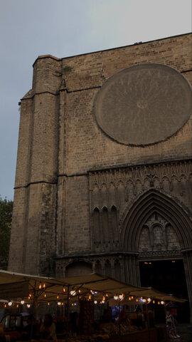 Basílica Santa Mª del Mar (Estilo Gótico)