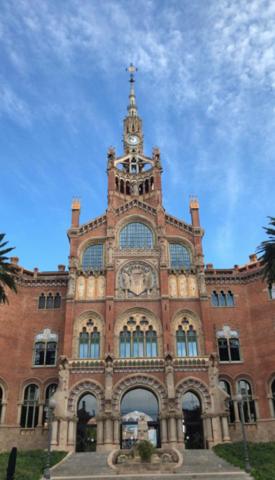 Hospital de la Santa Creu i Sant Pau (Modernismo)