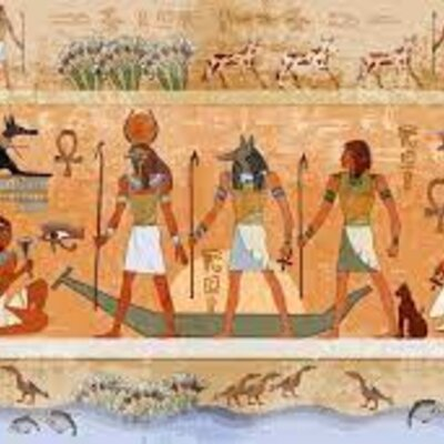 PINTURA DEL ANTIGUO EGIPTO timeline