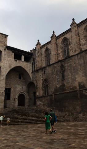 Plaza del Rei (Estilo Gótico)