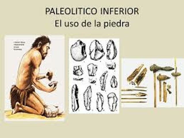 Inventos Paleolítico inferior