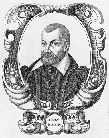 Jean Bodin ( 1529 hasta 1596 )