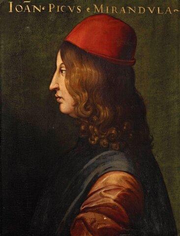 Giovanni Pico della Mirandola ( 1463 hasta 1494 )