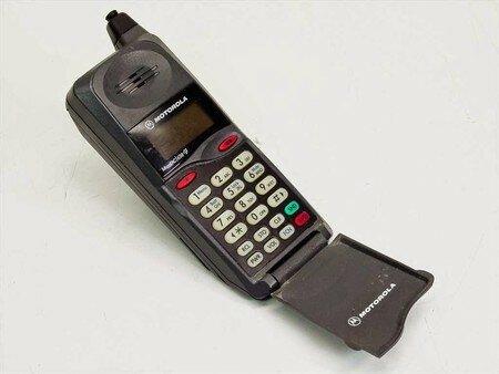 Primer teléfono móvil, Motorola