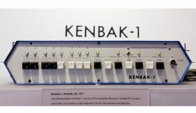 Aparicion del primer ordenador personal