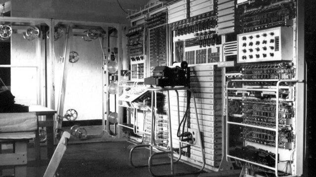 Ordenador Colossus de Alan Turing