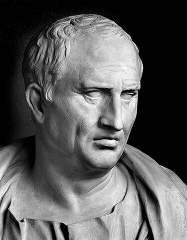 Cicerón ( 106 a. C -  43 a. C)